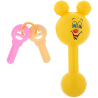 Auto Flow Rattle Toy - Jinny Toy - BT27 Yellow