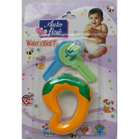 Love Baby Auto Flow Water Filled Toy Teether - Mango - BT17