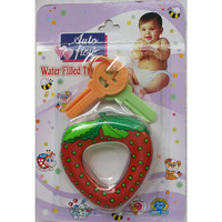 Love Baby Auto Flow Water Filled Toy Teether - Strawberry - BT19
