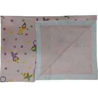 Love Baby Soft Bed Sheet Plastic - 713 D Pink