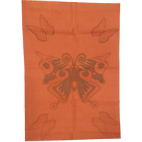 Quick Dry Bed Protector Printed - 623 S Toffee
