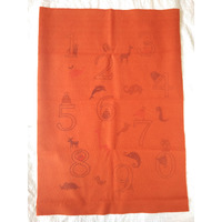 Quick Dry Bed Protector Printed - 624 S Toffee
