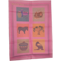 Quick Dry Bed Protector Printed - 625 S Pink