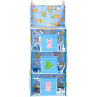 Love Baby Economical Teddy Bear Kids Cupboard 3 Step - DKBC14 Blue