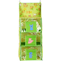 Love Baby Economical Teddy Bear Kids Cupboard 3 Step - DKBC14 Green