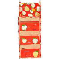Love Baby Extar Big Apple Kids Cupboard - DKBC15 Red