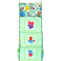Love Baby Small Teddy Bear Kids Cupboard 3 Step - DKBC17 Green