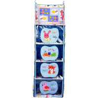 Love Baby Aminal and Transport Kids Cupboard 4 Step - DKBC18 Blue