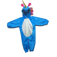 Pink Apricot Blue Unicorn Halloween Party Cosplay Costume for School Events