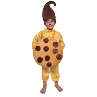 Pink Apricot Kids Halloween Outfit 2019 Cookies Biscuit Costume Junk Food