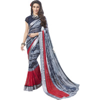Triveni Multi Colourcolour Georgette Everyday WearSarees