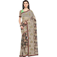 Triveni Beigecolour Pure Georgette Everyday WearSarees