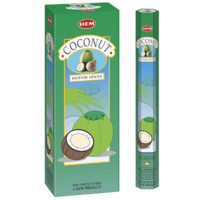 Hem Coconut (120 Incense Sticks)