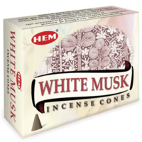 Hem Cone White Musk (Pack of 12)