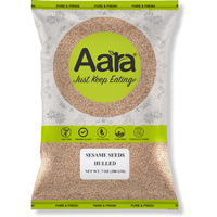 Aara Sesame Seeds Hulled (Washed) - 7 oz