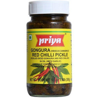 Priya Gongura Red Chilli With Out Garlic Pickle
