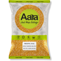 Aara Yellow Moong Dal - 8 lb