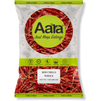 Aara Red Chili Whole (Regular) - 7 oz