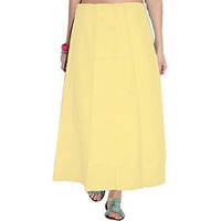 Yellow Saree Inskirt ...