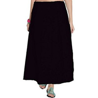 Black Saree Inskirt  ...
