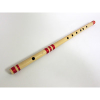 Indian Bamboo Flute Transverse High Frequency Notes