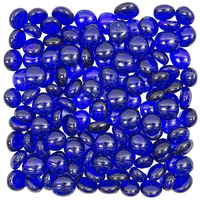 Blue Flat Marbles, P ...