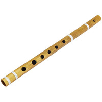 Winmaarc Wooden Bamboo Flute  Fipple Woodwind Musical Instrument Traditional Bansuri