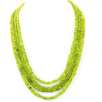 Green Peridot Gemsto ...