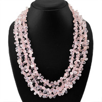 Pink Rose Quartz Gem ...