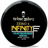 UrbanGabru Zero to Infinity Hair Wax for Strong Hold and Volume, 100 g