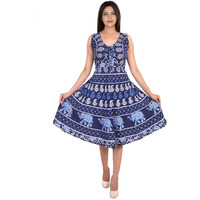 Decot Paradise Women's Cotton Knee Lenth Dress