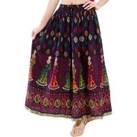 Decot Paradise Women's cotton ethnic long skirt