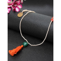 orange Drop necklace