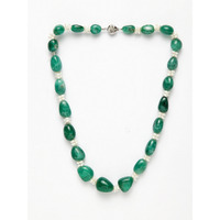 Emerald Pearl String