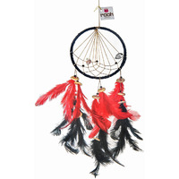 Tribe Vibe Dreamcatcher Wall Hanging Handmade Feathers Decoration