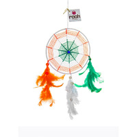 India Dreamcatcher Wall Hanging Handmade Feathers Decoration