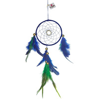 Mystic Beauty Dreamcatcher Wall Hanging Handmade Feathers Decoration