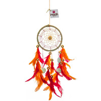 Tropical Dreamcatcher Wall Hanging Handmade Feathers Decoration