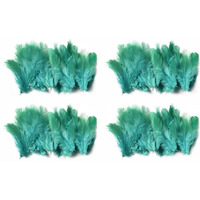 Natural Beautiful Po4 Green Feathers 40X4