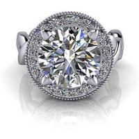 Women 2.84 ct Diamon ...