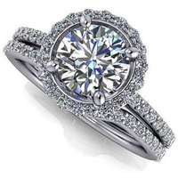 Women 1.60 ct Diamon ...