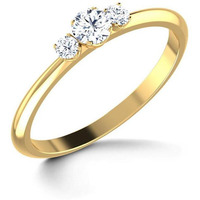 3 Stone Ladies Ring  ...