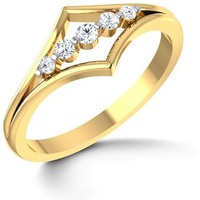 925 CZ Silver Ring F ...