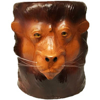 Embossed Lion Leathe ...