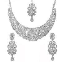 Indian white rhinest ...