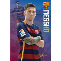 F.C. Barcelona Mini Poster Messi 18