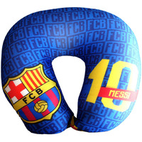 F.C. Barcelona Neck Cushion/Travel Pillow Messi No. 10