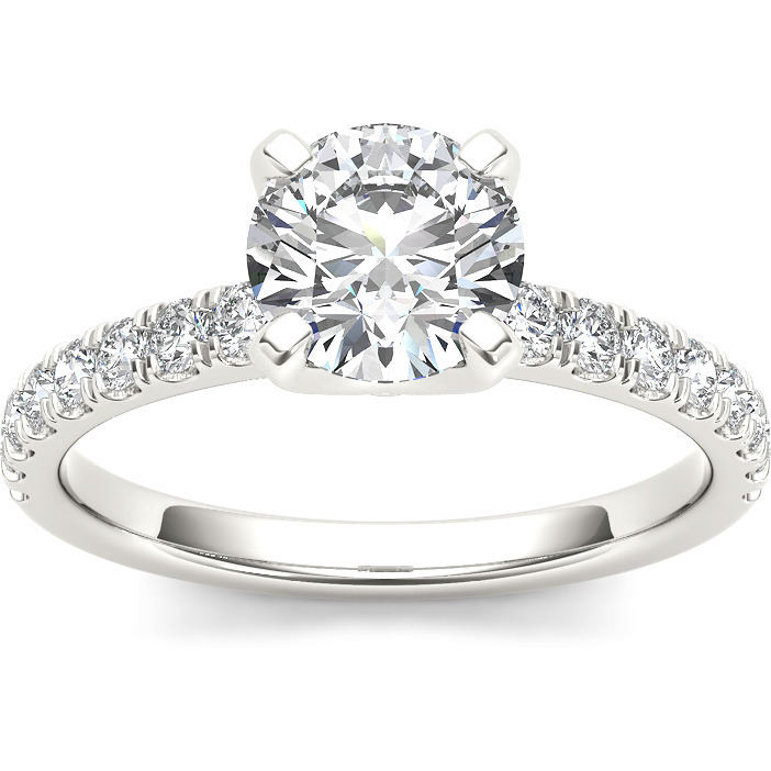 A 2.50 Carat Cz 925 Silver Solitaire Ring