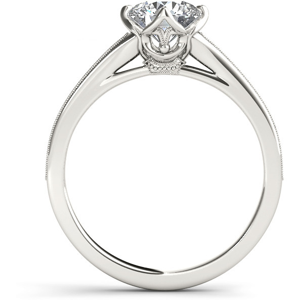 A 2.30 Carat Cz 925 Silver Solitaire Ring