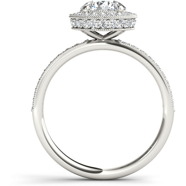 A 3.60 Carat Cz 925 Silver Solitaire Ring